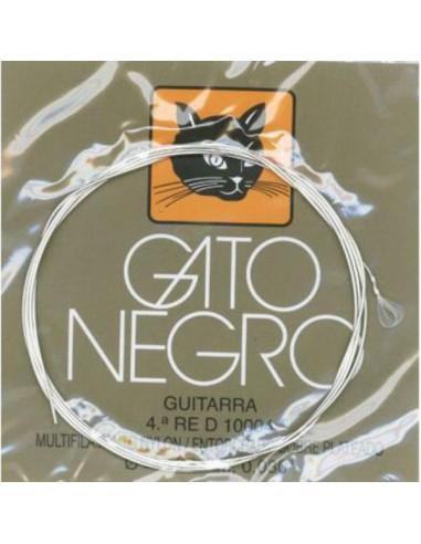 CUERDA GUITARRA  CLASICA GATO NEGRO 4ª - (12)