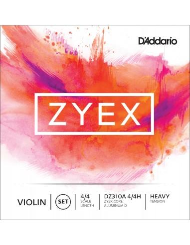 JUEGO CUERDAS VIOLIN 4/4 HEAVY D´ADDARIO ZYEX DZ310A