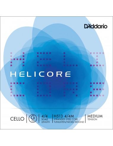CUERDA VIOLONCHELO 4/4 MED D´ADDARIO HELICORE G H513 SOL