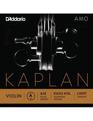 CUERDA VIOLIN 4/4 LIGHT D´ADDARIO KAPLANAMO A KA312 LA
