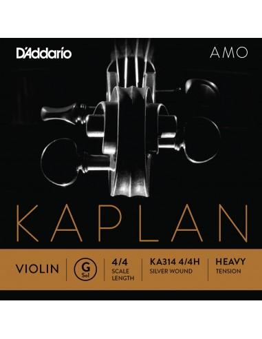 CUERDA VIOLIN 4/4 HEAVY D´ADDARIO KAPLANAMO G KA314 SOL