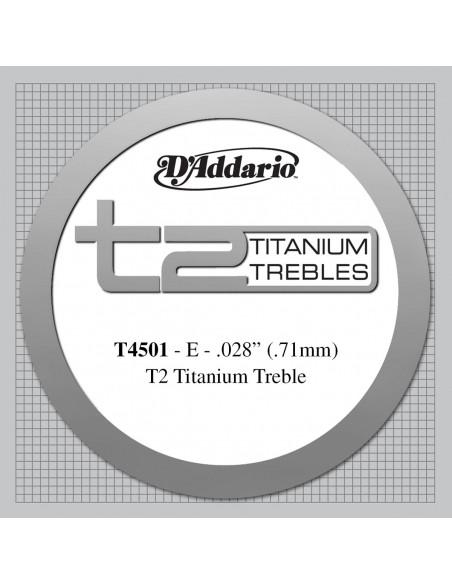 CUERDA GUITARRA ESPAÑOLA D´ADDARIO TITANIO T4501NORMAL