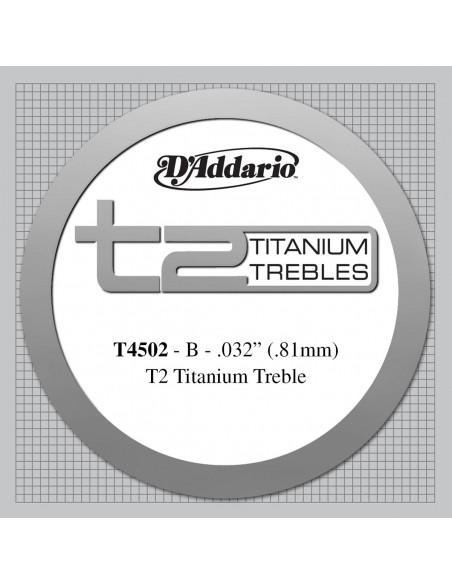 CUERDA GUITARRA ESPAÑOLA D´ADDARIO TITANIO T4502NORMAL