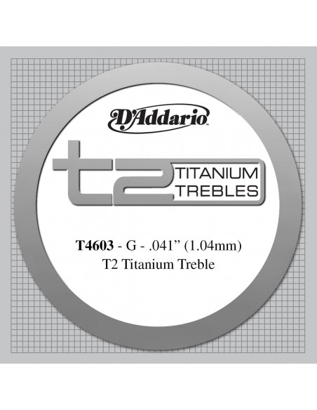 CUERDA GUITARRA ESPAÑOLA D´ADDARIO TITANIO T4603HARD