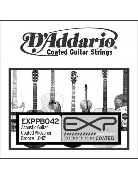CUERDA GUITARRA ACUSTICA D´ADDARIO EXPPB-042