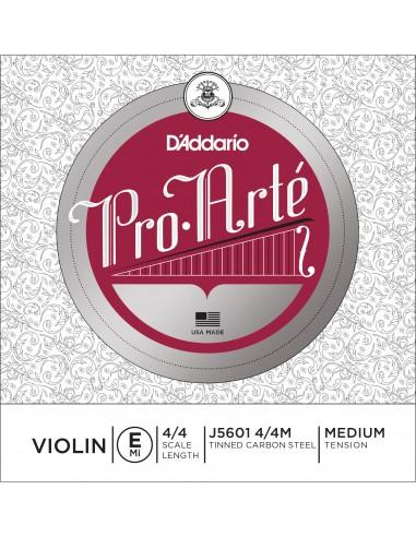 CUERDA VIOLIN 4/4 MED D´ADDARIO PRO ARTE E J5601 MI