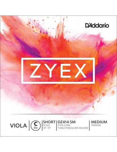 CUERDA VIOLA D´ADDARIO SHORT MED ZYEX C DZ414 SM DO