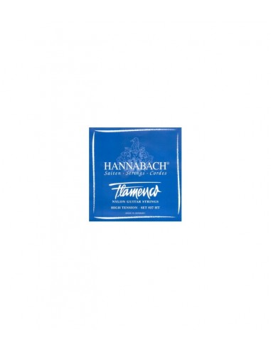 CUERDA 1ª HANNABACH AZUL GUITARRA FLAMENCA  8271-HT