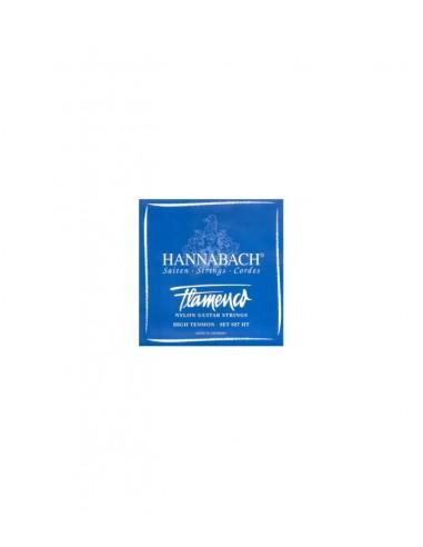 CUERDA 2ª HANNABACH AZUL GUITARRA FLAMENCA  8272-HT