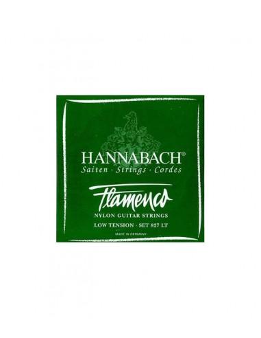 CUERDA 2ª HANNABACH VERDE FLAMENCO 8272-LT
