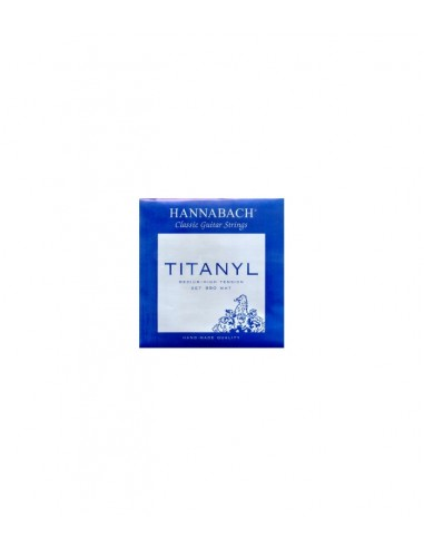 CUERDA 1ª HANNABACH TITANYL CLASICA 9501-MHT