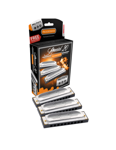 PROPACK ARMONICAS HOHNER SPECIAL-20 A-C-G