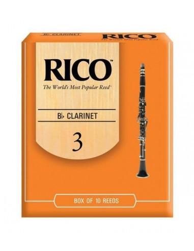 CAÑA CLARINETE SIB. RICO 10BX 3