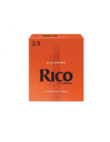 CAÑA CLARINETE MIB. RICO 10BX 2,5
