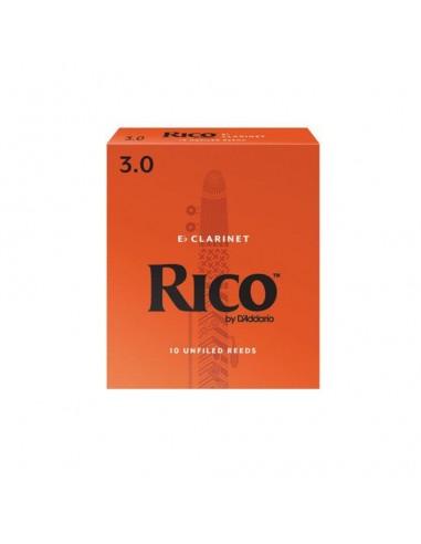 CAÑA CLARINETE MIB. RICO 10BX 3