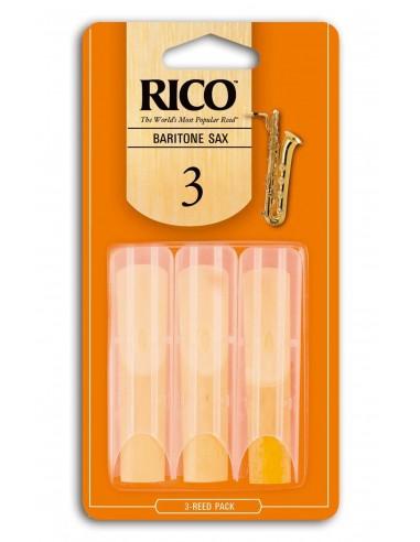 CAÑA SAXO BARITONO RICO 3BX 3