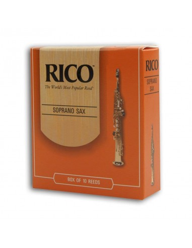 CAÑA SAXO SOPRANO RICO 10BX 1,5