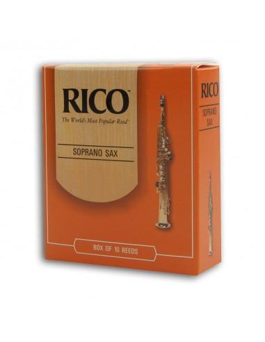 CAÑA SAXO SOPRANO RICO 10BX 3