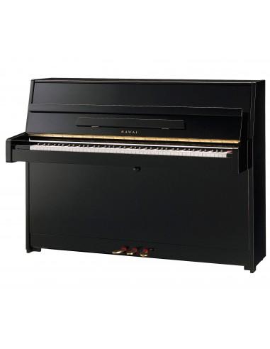 PIANO VERTICAL KAWAI K15 Negro pulido