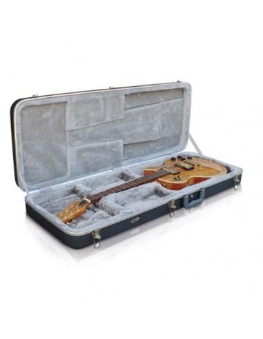 PLAT500G - ESTUCHE GUITARRA ELECTRICA RECTANGULAR PLATINIUM PLAT500G - ASHTON