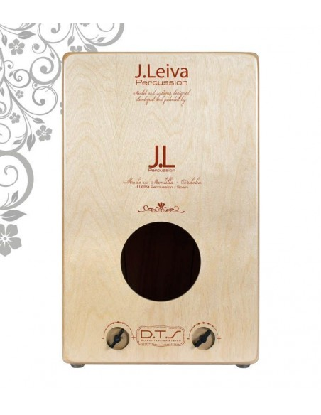 CAJON FLAMENCO LEIVA ALMA RED