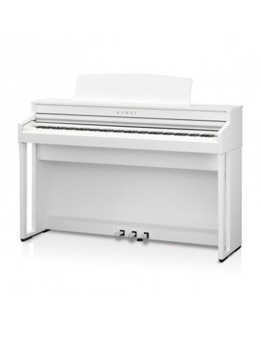 PIANO DIGITAL KAWAICA49, BLANCO SATINADO