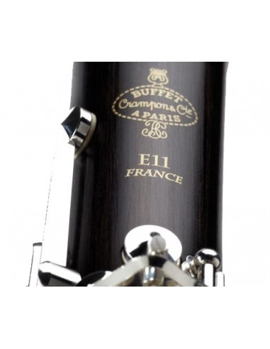 CLARINETE BUFFET E11 BC2501L-2-0GB 18 LLAVES