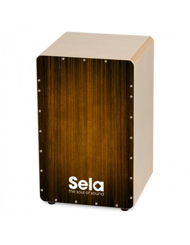 CAJON FLAMENCO SELA SE-051 VARIOS BROWN