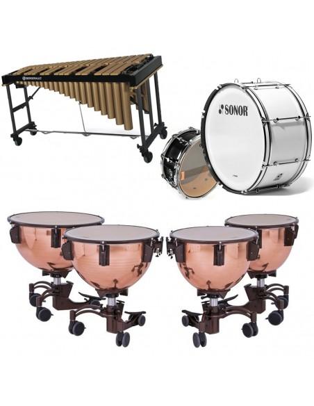 Percusión marcha y sinfónica